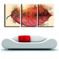 Bella Alberi di Acero in Autunno One Piece Red Leaves Tela Impressionista Pittura Stampa per Home Office Decor Wall Art Regalo
