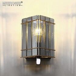 New Arrival kryształowe ściany światła lampy szklane ściany 1 światła do jadalni hotelu projektu Abajur nabłyszczania MD85507