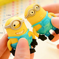 Sets Removable Minions 3D Rubber Gift Toys Minion in Action Figures