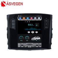 Asvegen Tesla 10.4'' 2G Ram 32GB Android 6.0 Quad Core Car No DVD Player Radio For MITSUBISHI PAJERO Multimedia GPS Navigation