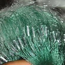 quality H0.8*L60M 3 layer 2.5cm mesh sink net gill net fish trap sticky fishing net Salmon net outdoor pesca fishing network