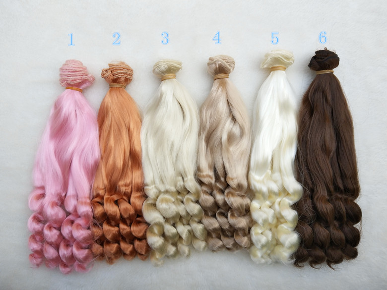 Imitation mohair 20cm Doll Wigs curly hairpiece for 1/3 1/4 BJD/SD Uncle Blyth doll wigs DIY Fapai milk silk soft hairs doll safurance no soliciting no exceptions front door security sign waterproof 11 x7 28x18cm workplace safety