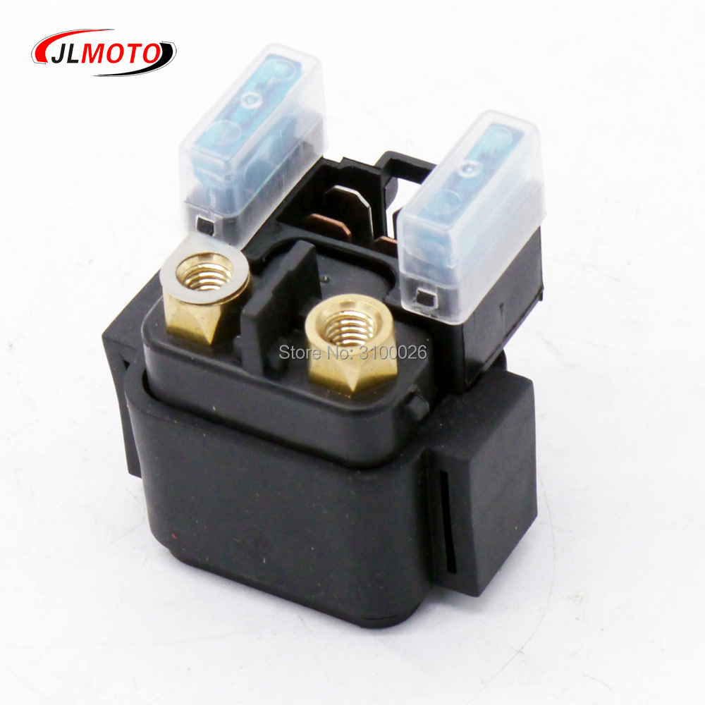 Starter Solenoid Relay Assy Fit For YAMAHA RAPTOR ATV YFM660 Quad Bike Parts 4XE-81940-12-00 2001-2005 Rc19-026 ...