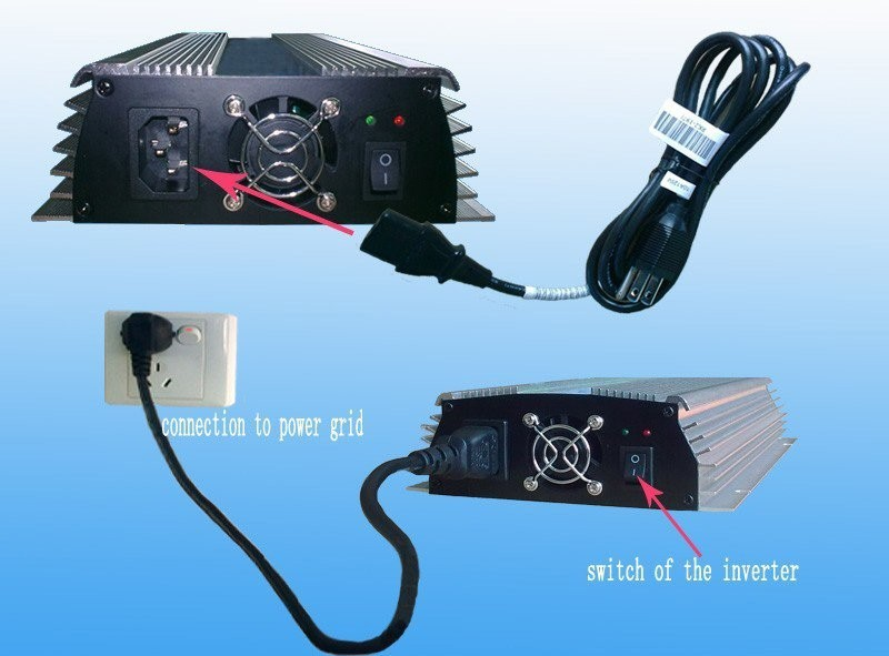 300 Вт 22V-60VDC к 220VAC сетки галстук инвертор, на сетке солнечной энергии системный инвертор