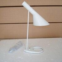 Современный стильный светильник AJ настольная Лампа Белая/черная светодио дный настольная лампа aj