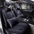 Новый 3D Автомобиля Сиденья Спортивный Стиль, Старший Кожа, автомобиль-чехлы Для Всех Седан, Для Toyota, Ford, Honda CRV Volkswagen