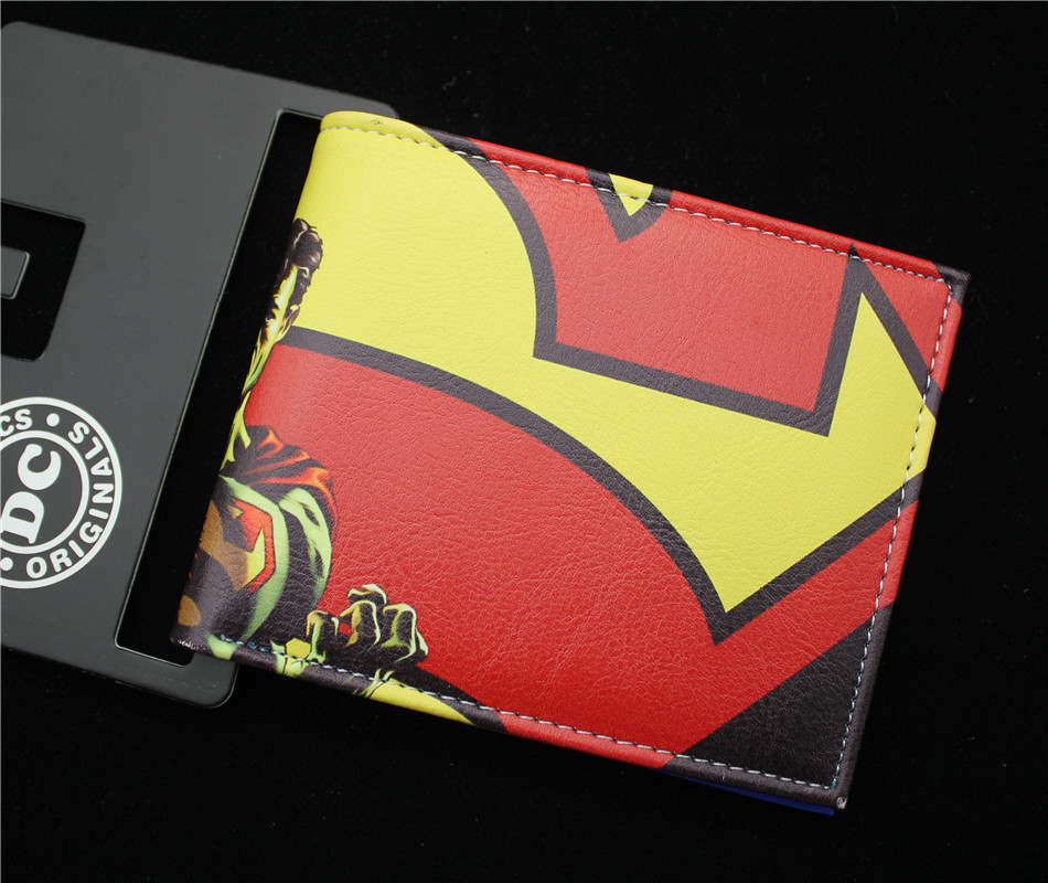 Batman V Superman Dawn of Justice wallet women&men Biold leather pu purse QYCR004