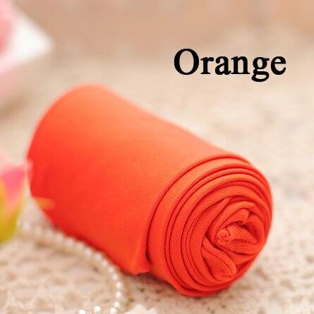 BIVIGAOS модные сексуальные Kawaii милые 120D бархатные бесшовные колготки ярких цветов колготки непрозрачные женские 18 цветов Сексуальные чулки - Цвет: Оранжевый