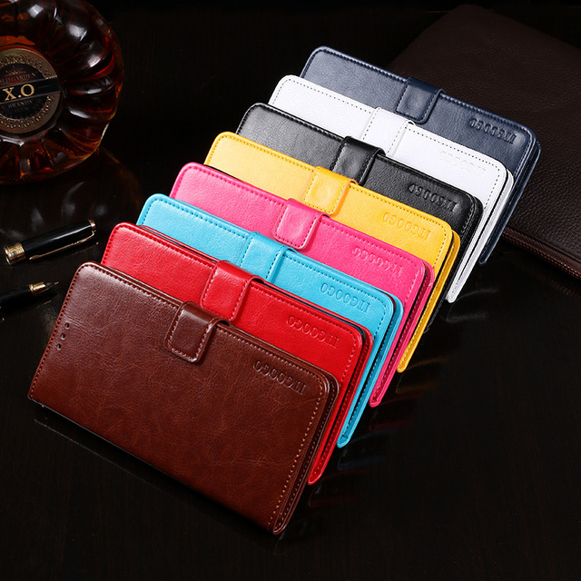 Itgoogo For Oukitel C5 pro Case Business Style Wallet Leather Flip Phone Fundas Cover for Oukitel C5 pro Case Accessories