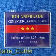Заводская цена 18 шт. 45 градусов Высокое качество лезвия для Roland виниловый плоттер в США