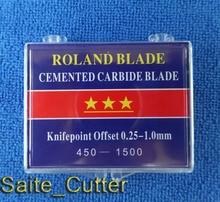 工場価格18ピース45度高品質ブレード用ローランドビニールカッタープロッタ送料無料米国へ