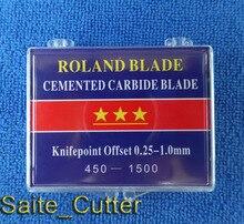 Fabryka cena 18 sztuk 45 stopni wysokiej jakości ostrza do Roland maszyna do cięcia winylu ploter darmowa wysyłka do USA