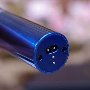 Image 5 - מקצועי חשמלי שיער קליפר טיטניום F17 נטענת שיער גוזם לגברים זקן מכונת גילוח שיער חיתוך מכונת LED תצוגה