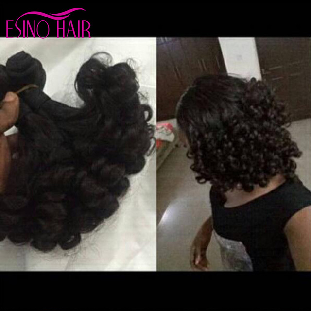 8 24inches Fashion Curl Funmi Hair Virgin Human Hair Extensions