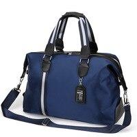 Man Portable Shoulder Bags Foldable Luggage Bag Business Organizer Package Diagonal Travel Bag High Quality Nylon Large Capacity