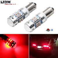 iJDM Brilliant Red H21W LED Replacement Bulbs For 2012-2015 BMW F30/F31/F80 3 Series, 2014-up F32/F33/F82 4 Series Brake Lights