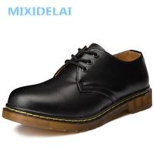 MIXIDELAI/Новинка; большие размеры; брендовая мужская обувь из натуральной кожи; весенние туфли-оксфорды; модные повседневные Дизайнерские мужские туфли; Кожаные Мокасины