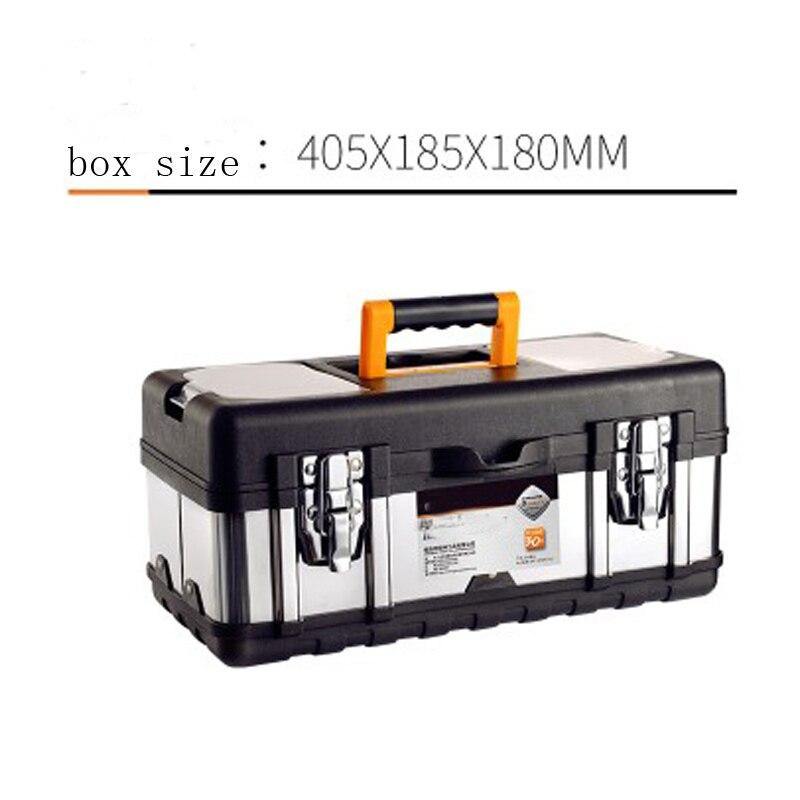 Multi-Function Toolbox Home Vehicle Maintenance Hand-Held Art Portable Hardware Storage Box Repair Tool Box Case