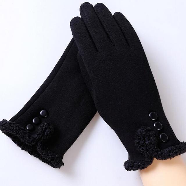 Plush Gloves Winter Sports...