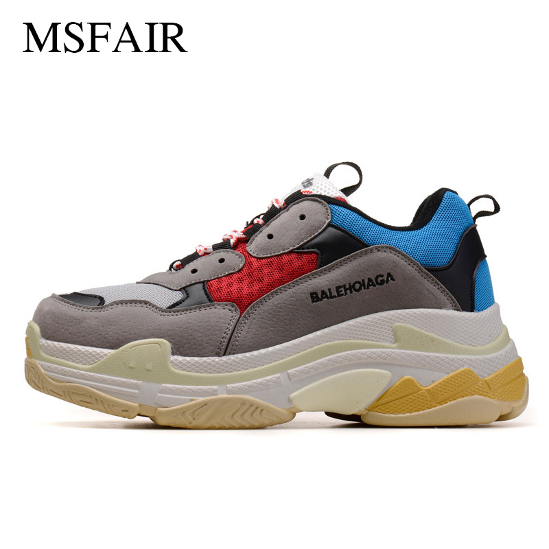 Msfair Women Running Shoes Man Brand Sports Run Sport Shoes For Men Lovers increased Womens Sneakers Male athletic shoes