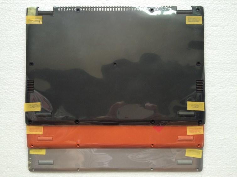 New Original for Lenovo Ideapad Yoga 2 13 Base Bottom Cover Case Orange Black Silver