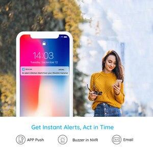 Image 5 - Reolink 4MP בית אבטחת ip מצלמה 2.4G/5G WiFi פאן & להטות להקשיב ולדבר SD כרטיס חריץ מעקב מקורה E1 פרו