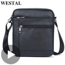 Westal Small Shoulder Work Business Messenger Office Women Men Bag