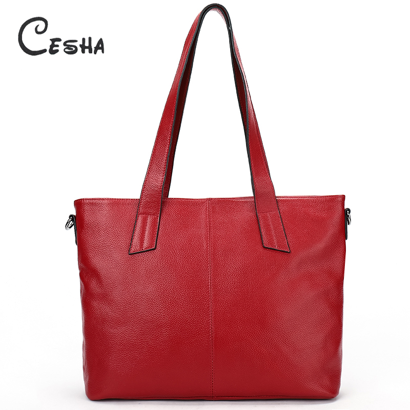 Luxury Genuine Leather Women's Top-handle Handbag High Quality Real Cow Leather Casual Tote Large Capacity Leather Shoulder Bag 2016 famous brand large real leather tote bag female cow leather handbag high end women vintage bag black casual top handle bags