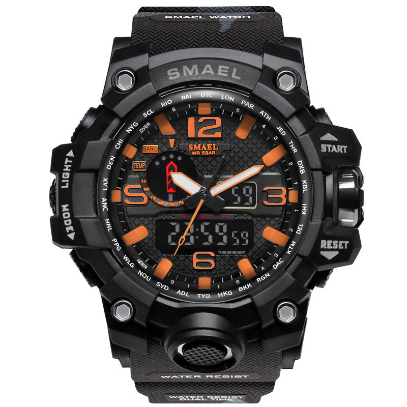 1545B Black orange
