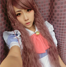 Top quality LOLITA hair jewelry 300g 75cm synthetic brown hair accessories for cosplay wigs