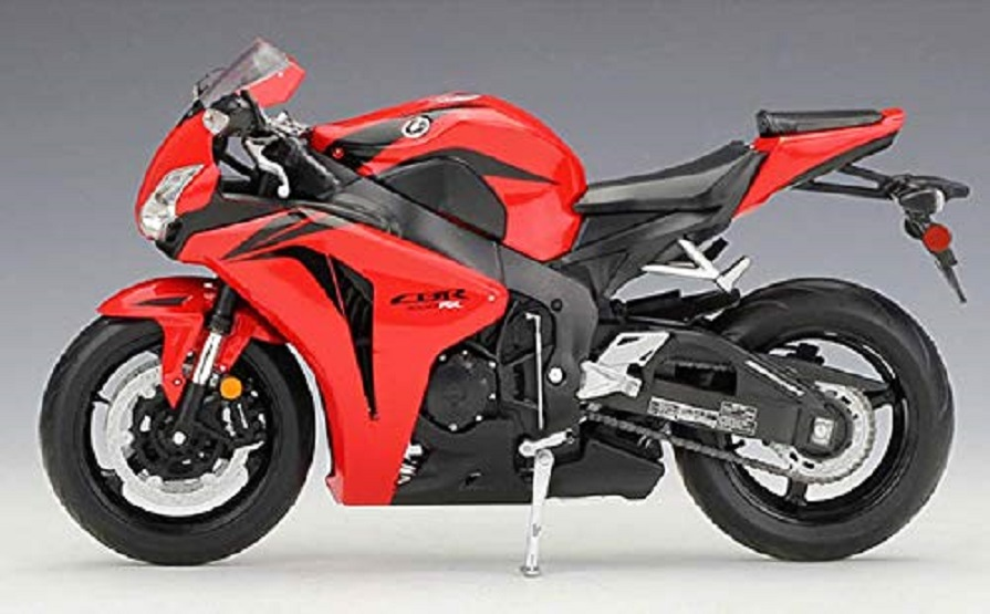 Welly 1:10 Honda CBR1000RR Diecast Motorcycle Bike Model Toy New In Box Red