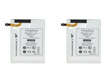 "iTopZea 2pcs 4000mAh EB-BT230FBE Replacement Battery For Samsung Galaxy Tab Tablet 4 7.0 7.0""Nook T230 T231 T235 SM-T230 SM-T231(China)"