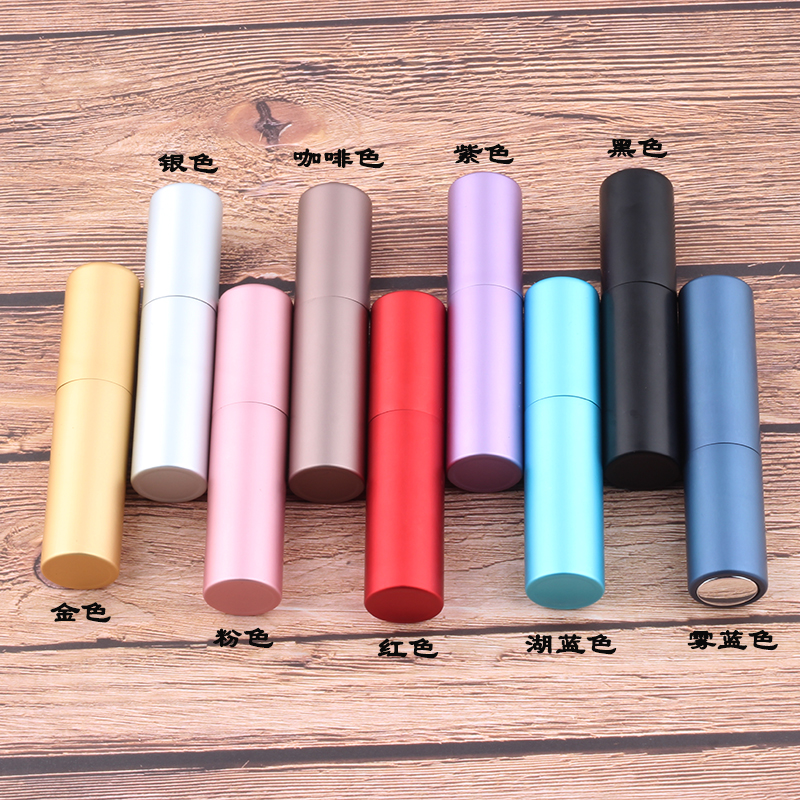 Купить с кэшбэком Mini 5ml Portable  Refillable Perfume Bottle With Spray Scent Pump Empty Cosmetic Containers Spray Atomizer Bottle For Travel