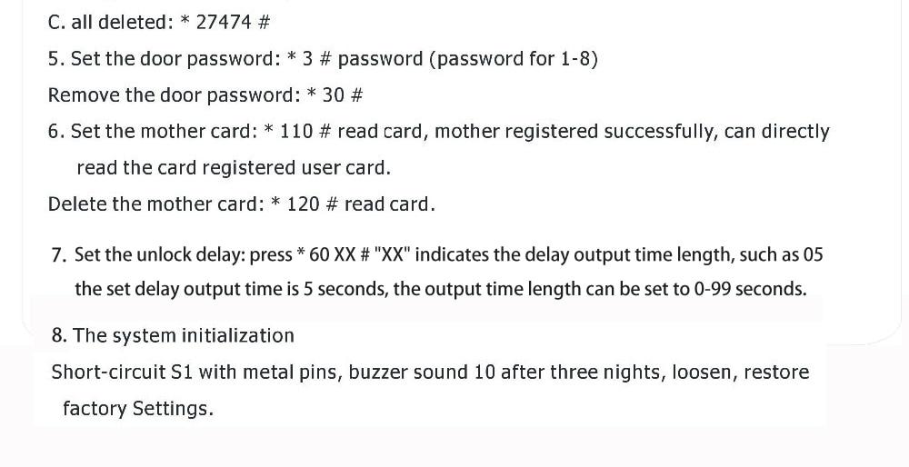 HTB1kJD9XUrrK1RkSne1q6ArVVXan EMID Access Control Board 125KHZ RFID Embedded control board DC12V Normally closed control board