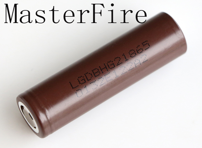 MasterFire New Genuine LG HG2 18650 3000mAh battery 18650HG2 3 7V discharge 20A dedicated electronic cigarette