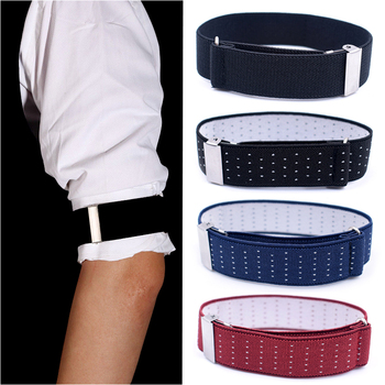 1 Pair Gentleman Formal Shirt Armband Sleeve Garter Holder Business Party Cuff father's day Gift Mouw Kousenband 2.5 cm width