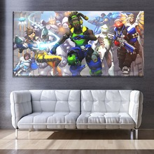 Canvas Painting Modern HD Print Type 1 Piece Shooting Hero Overwatch Game Poster Home Decorative Living Room Wall Artwork