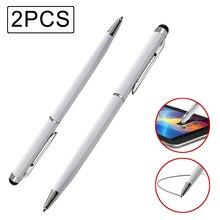2PCS Tablet Stylus Pen for Xiaomi mi se Universal 2 in 1 Cap