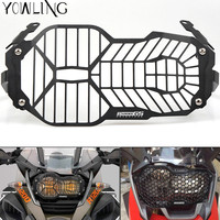 Hot Motorcycle Headlight Head Light Grill Guard Cover Protector For BMW R1200GS 2013 2014 2015 2016