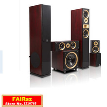 HYPER SOUND home theater SP-6689 5.1 Speaker Kit wooden living room TV sound Super high power 720W with Active subwoofer (120W)