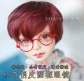 1/6 1/4 1/3 uncle SD17 BJD SD DD Doll accessories round frame eyeglasses photography tool