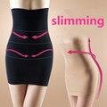 Das mulheres de cintura alta emagrecimento shapers do corpo sexy butt lift beleza abdômen desenho shapewear perfeita magro cueca pele negra