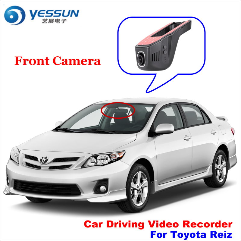 YESSUN voiture DVR conduite enregistreur vidéo pour Toyota Reiz caméra avant AUTO Dash CAM tête haute prise OEM 1080 P WIFI téléphone APP