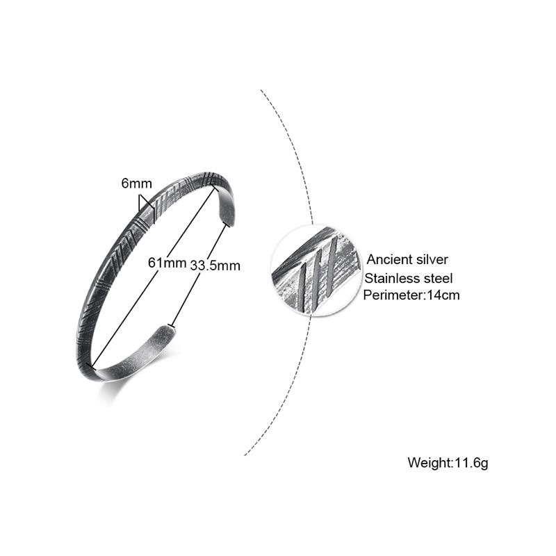 Meaeguet Vintage Totem Style Viking Bracelet & Bangle Stainless Steel Bracelets For Women Men Pulseras Hombre Jewelry (3)