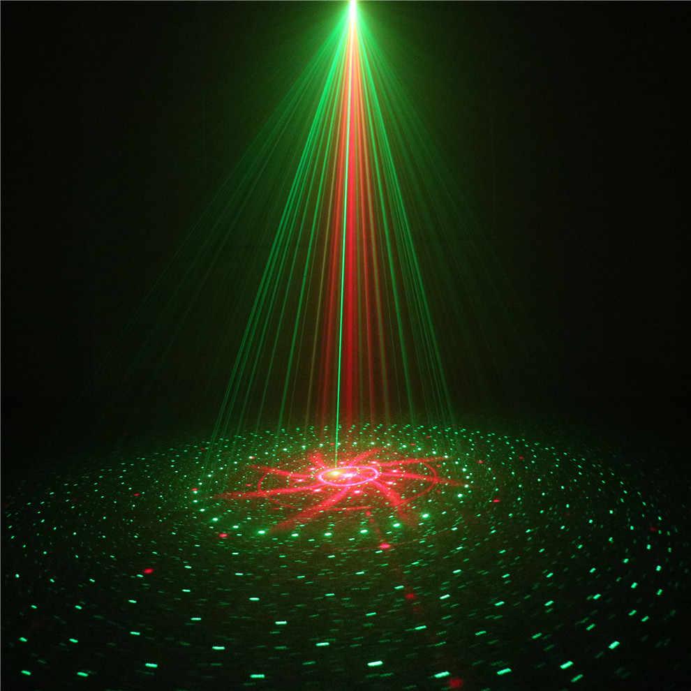 ALIEN 8 моделей водонепроницаемое наружное ландшафтное освещение садовое газон рождественское Лазерное освещение удаленный красный зелёный лазер, прожектор свет