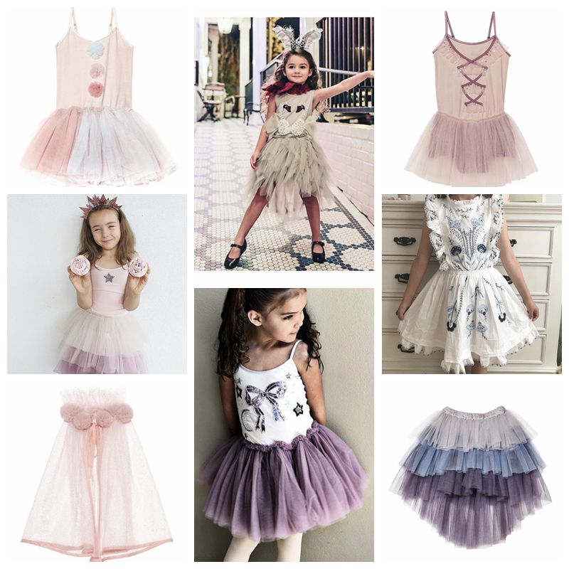 SUMMER INS HOT KIDS TUTU DU GIRLS CLOTHING GIRLS LACE PARTY DRESSES EVENING DRESSES FOR GIRLS BIRTHDAY GIFTS VESTIDOS