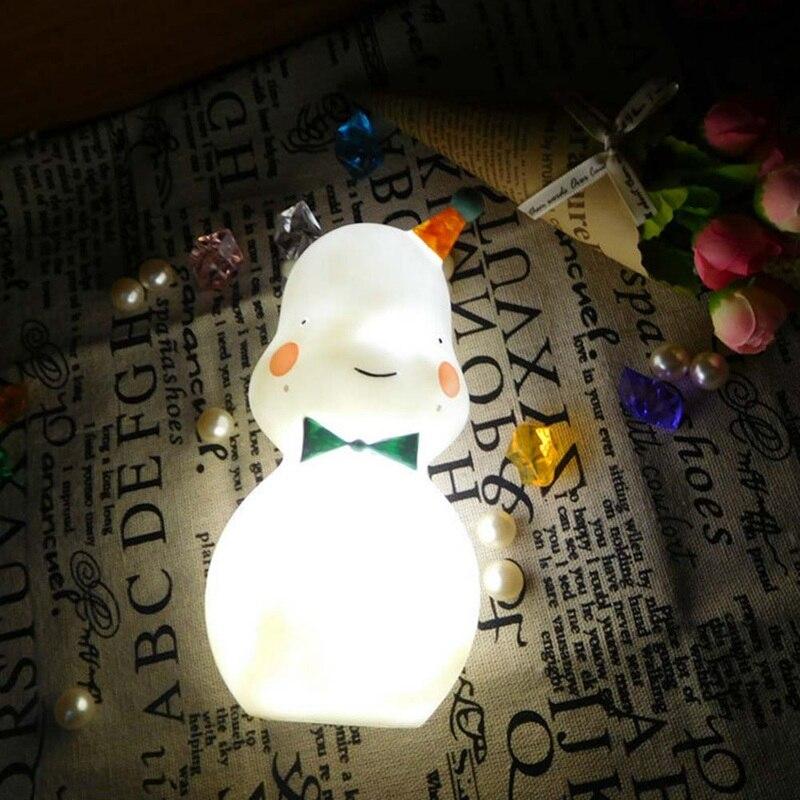Светодиодный маленький Бегемот ночник 2018 милый бегемотик светодиодный ночник подкладке ночники украшения ночь свет лампы