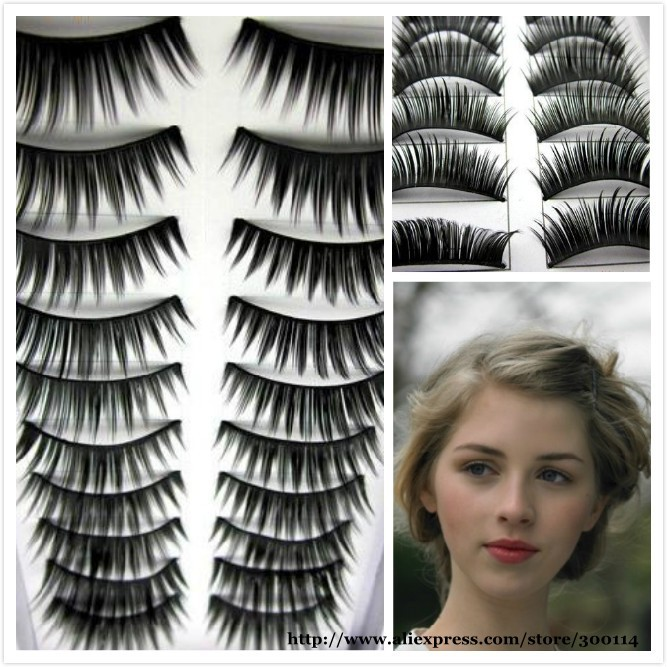 Wholesale Excellent Daily Eye Beauty Thick Long Voluminous Make Fake