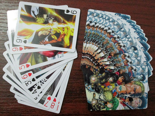 mejor baraja de cartas de one punch man