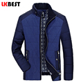 LKBEST 2017 New Brand Men's Winter Coat Padded Jacket high quality Men's Casual Coat Winter Jacket Men Parka Plus Size (PW624L)